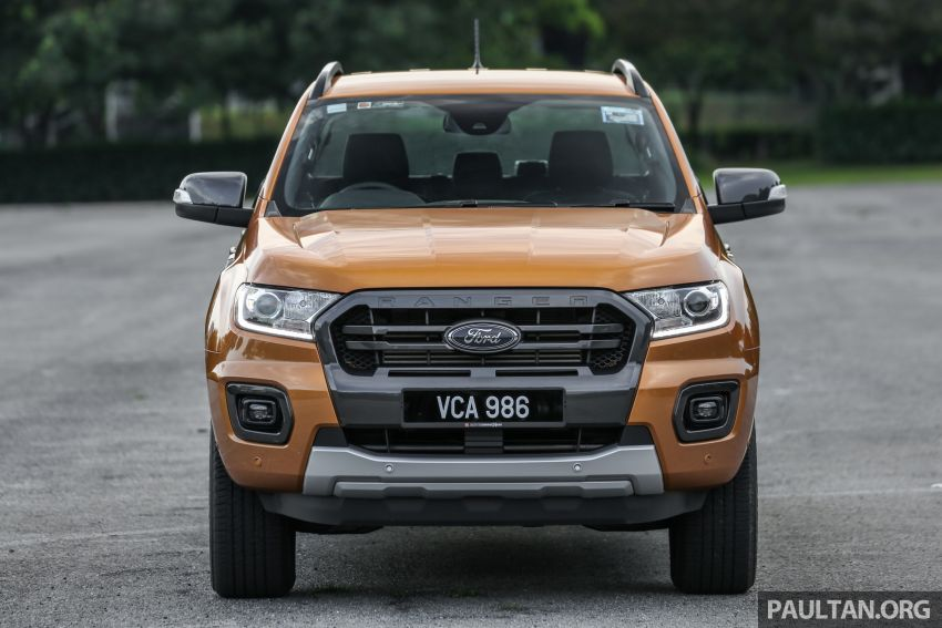 GALLERY: Ford Ranger – new 2019 facelift vs old 2016 Image #885366