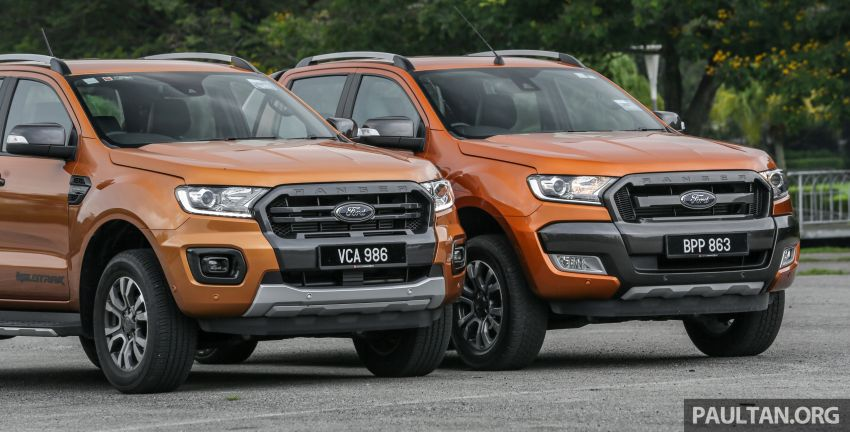 GALLERY: Ford Ranger – new 2019 facelift vs old 2016 Image #885348
