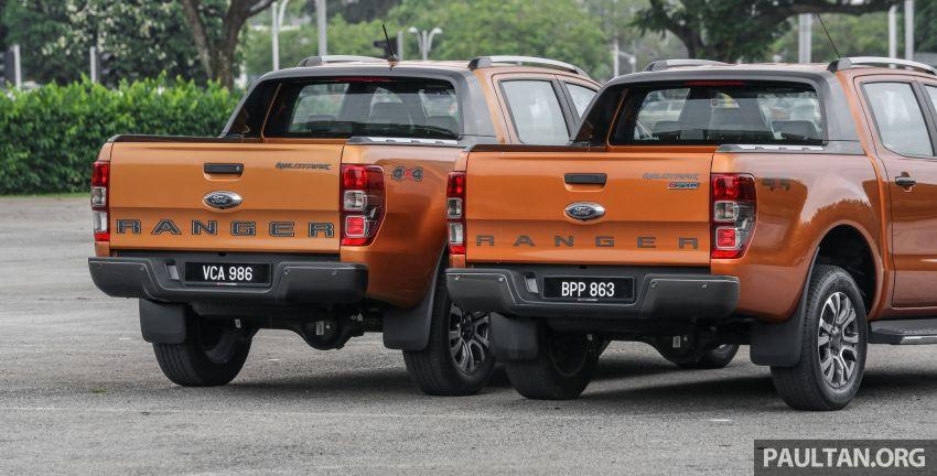 GALLERY: Ford Ranger – new 2019 facelift vs old 2016 Image #885349