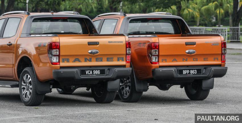 GALLERY: Ford Ranger – new 2019 facelift vs old 2016 Image #885352