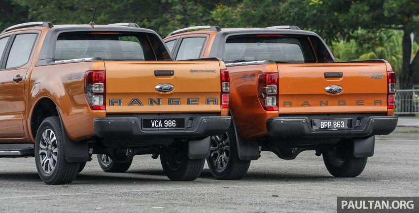 GALLERY: Ford Ranger – new 2019 facelift vs old 2016 Image #885353