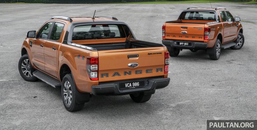GALLERY: Ford Ranger – new 2019 facelift vs old 2016 Image #885339