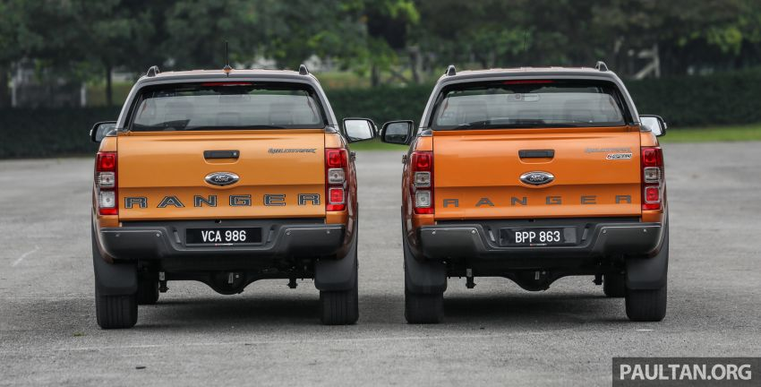 GALLERY: Ford Ranger – new 2019 facelift vs old 2016 Image #885342