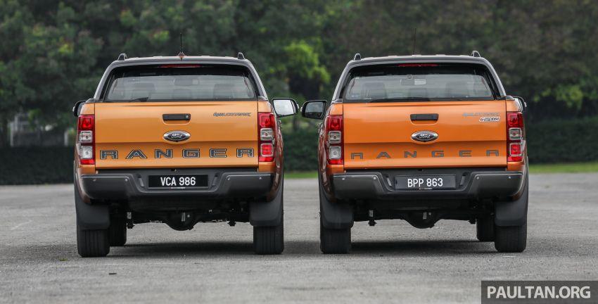 GALLERY: Ford Ranger – new 2019 facelift vs old 2016 Image #885343