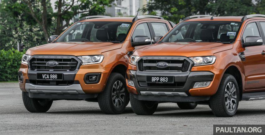 GALLERY: Ford Ranger – new 2019 facelift vs old 2016 Image #885346