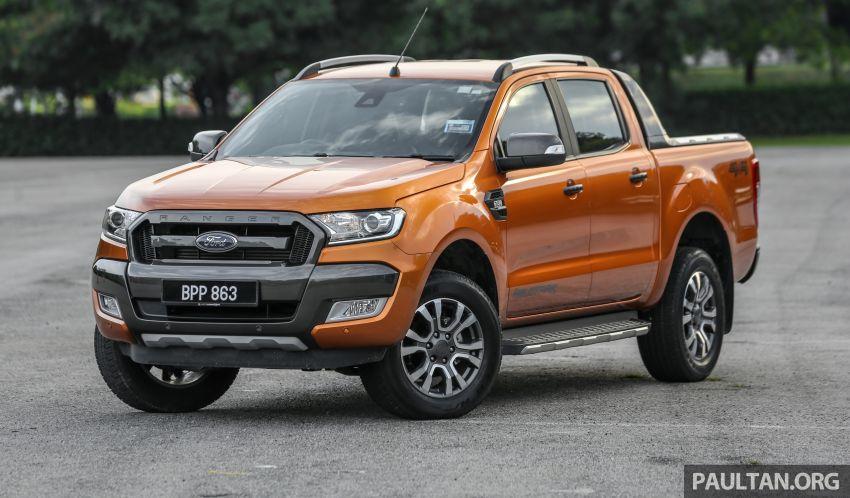 GALLERY: Ford Ranger – new 2019 facelift vs old 2016 Image #885456