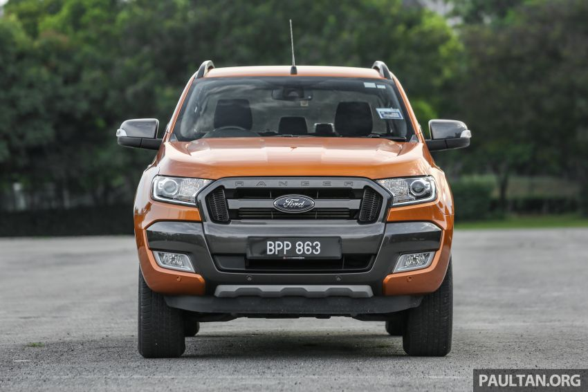 GALLERY: Ford Ranger – new 2019 facelift vs old 2016 Image #885465