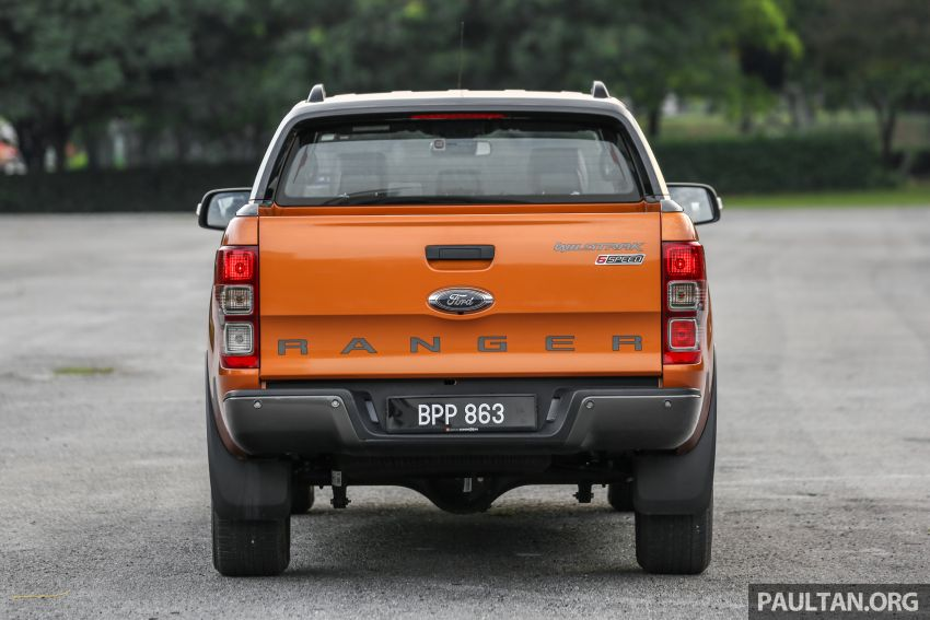 GALLERY: Ford Ranger – new 2019 facelift vs old 2016 Image #885466