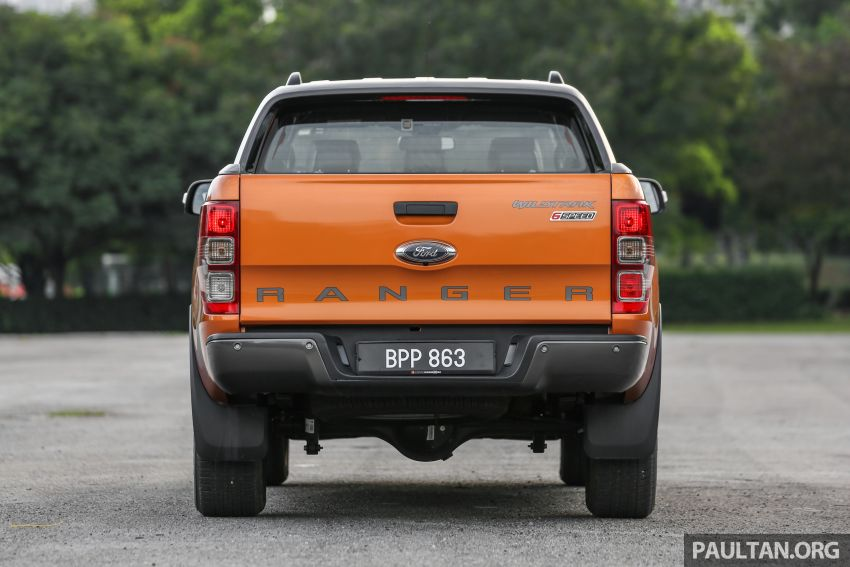 GALLERY: Ford Ranger – new 2019 facelift vs old 2016 Image #885467