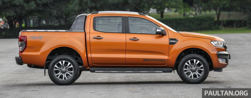 GALLERY: Ford Ranger – new 2019 facelift vs old 2016 Image #885468