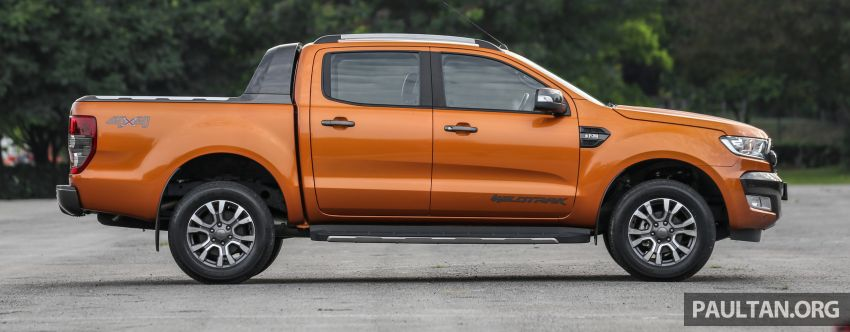 GALLERY: Ford Ranger – new 2019 facelift vs old 2016 Image #885469