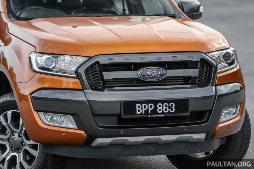 GALLERY: Ford Ranger – new 2019 facelift vs old 2016 Image #885470