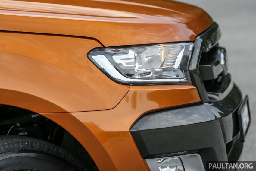 GALLERY: Ford Ranger – new 2019 facelift vs old 2016 Image #885472