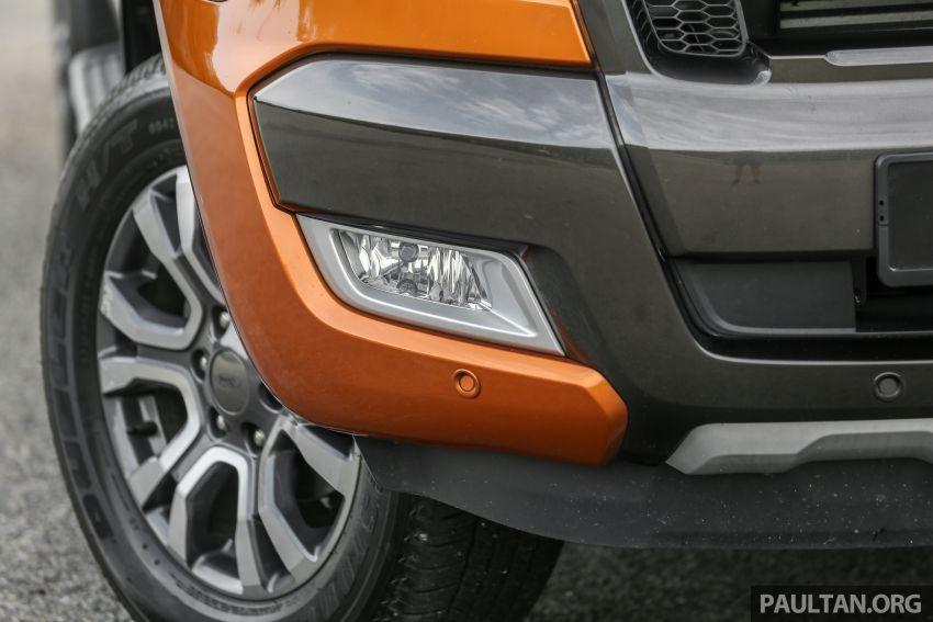 GALLERY: Ford Ranger – new 2019 facelift vs old 2016 Image #885473