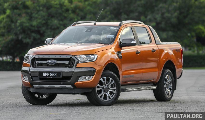 GALLERY: Ford Ranger – new 2019 facelift vs old 2016 Image #885457