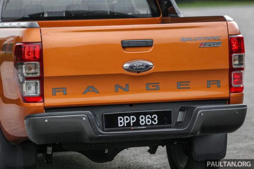 GALLERY: Ford Ranger – new 2019 facelift vs old 2016 Image #885485