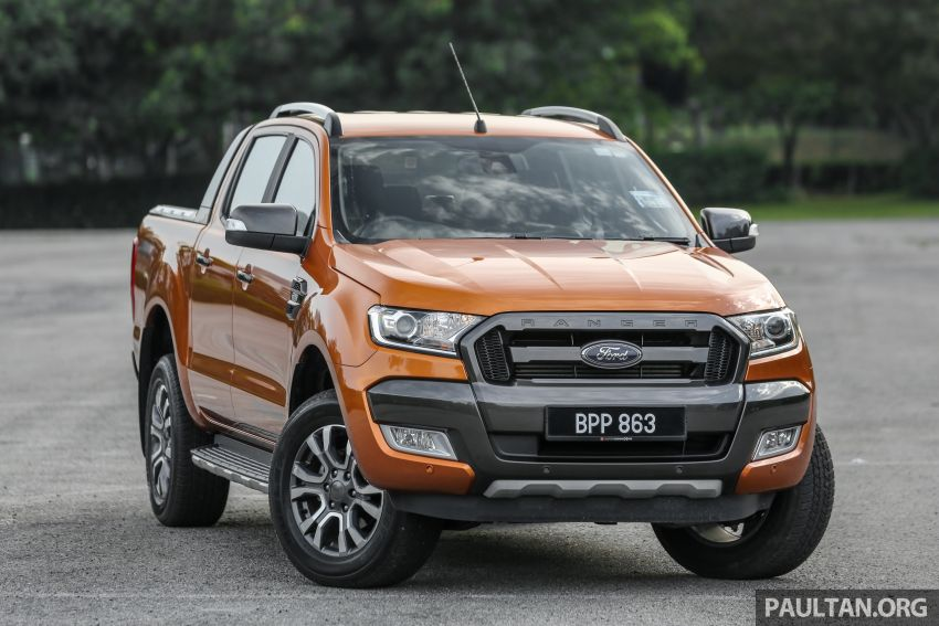 GALLERY: Ford Ranger – new 2019 facelift vs old 2016 Image #885458