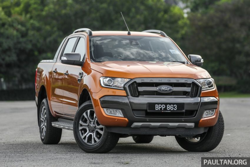 GALLERY: Ford Ranger – new 2019 facelift vs old 2016 Image #885459