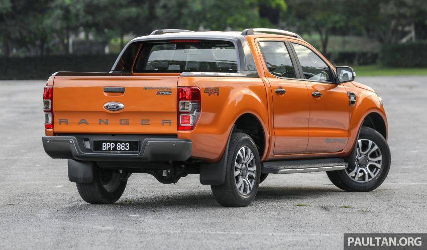 GALLERY: Ford Ranger – new 2019 facelift vs old 2016 Image #885460