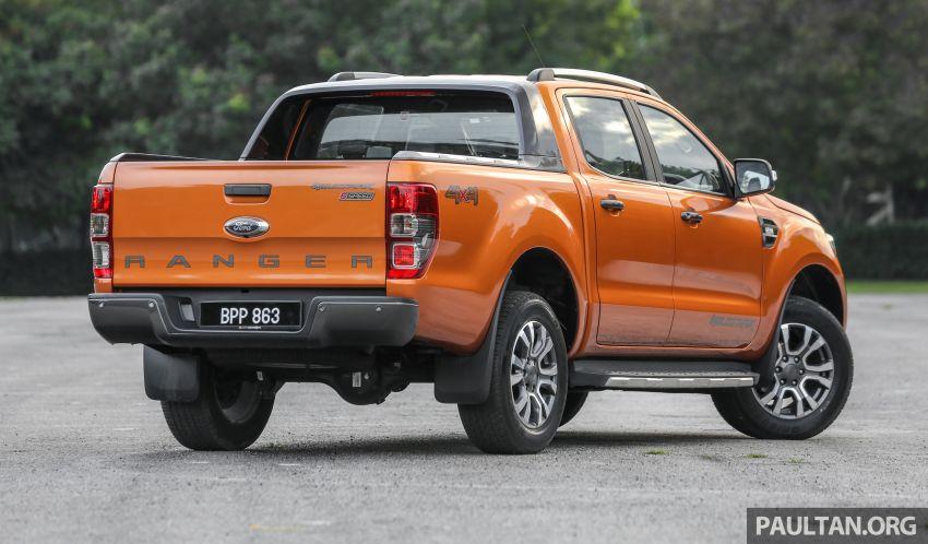 GALLERY: Ford Ranger – new 2019 facelift vs old 2016 Image #885461