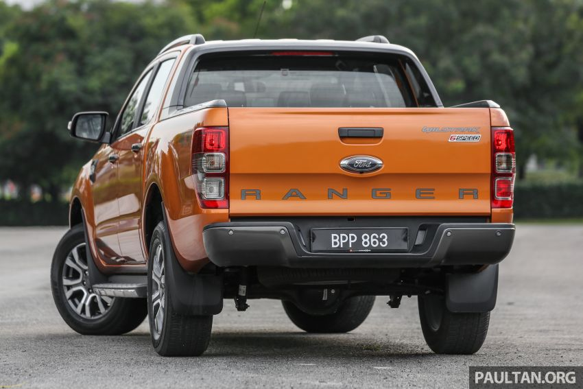 GALLERY: Ford Ranger – new 2019 facelift vs old 2016 Image #885463