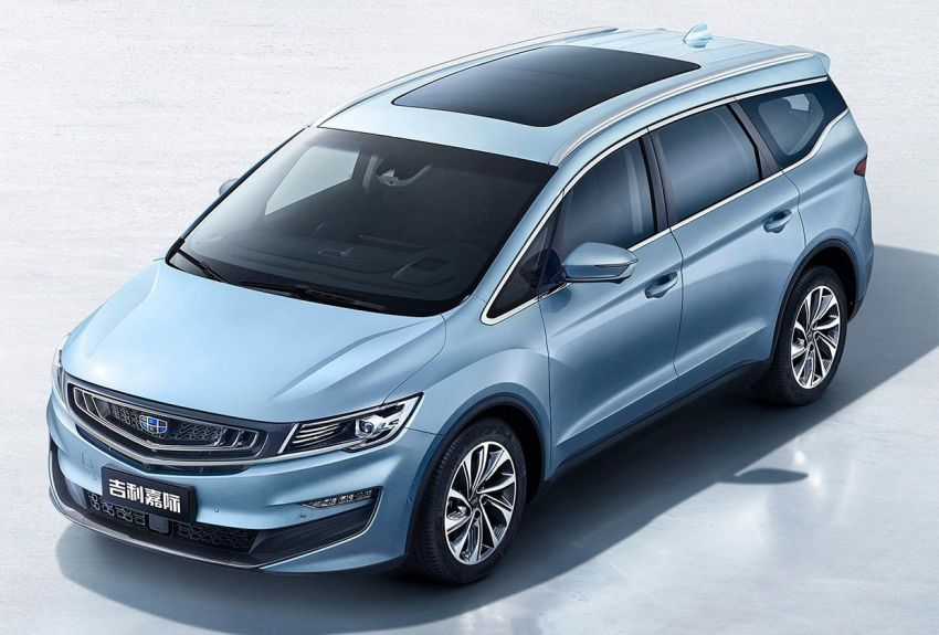 Geely Jiaji is the name of the VF11 MPV – new images Image #887846