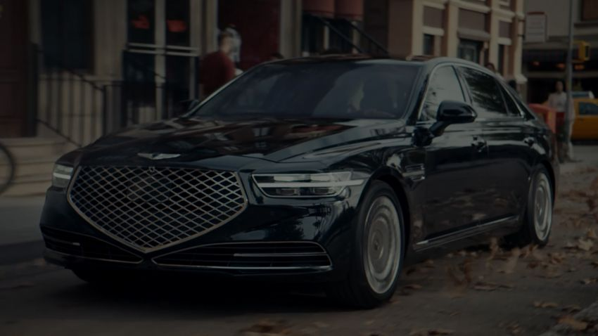 Genesis G90 facelift – major exterior overhaul for limo Image #895161