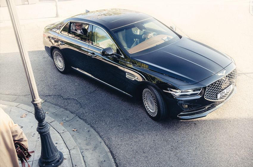 Genesis G90 facelift – major exterior overhaul for limo Image #895165