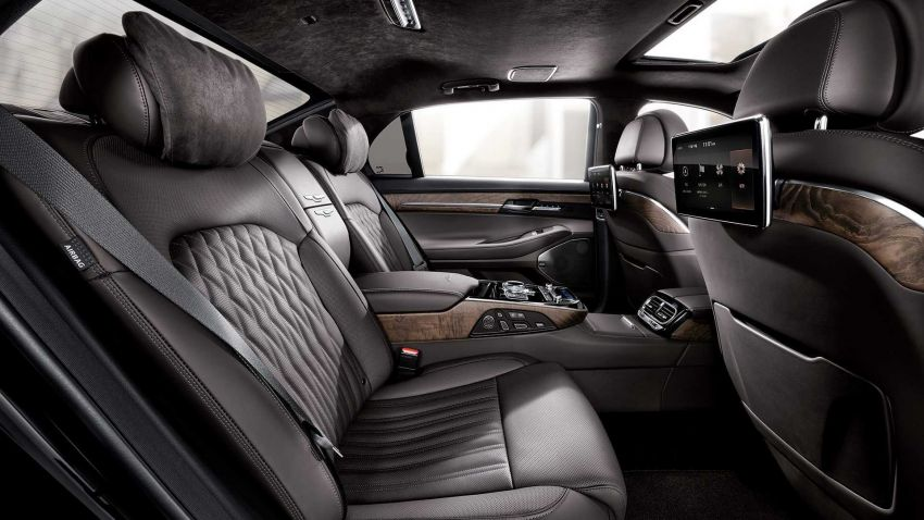 Genesis G90 facelift – major exterior overhaul for limo Image #895193