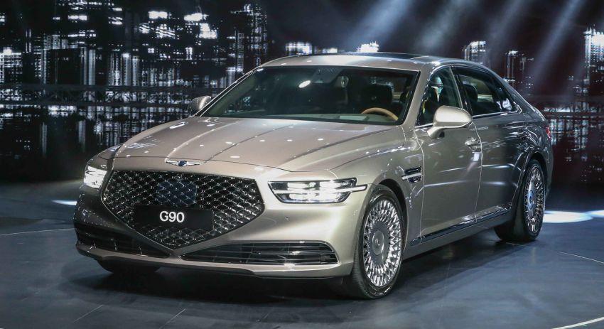 Genesis G90 facelift – major exterior overhaul for limo Image #895197