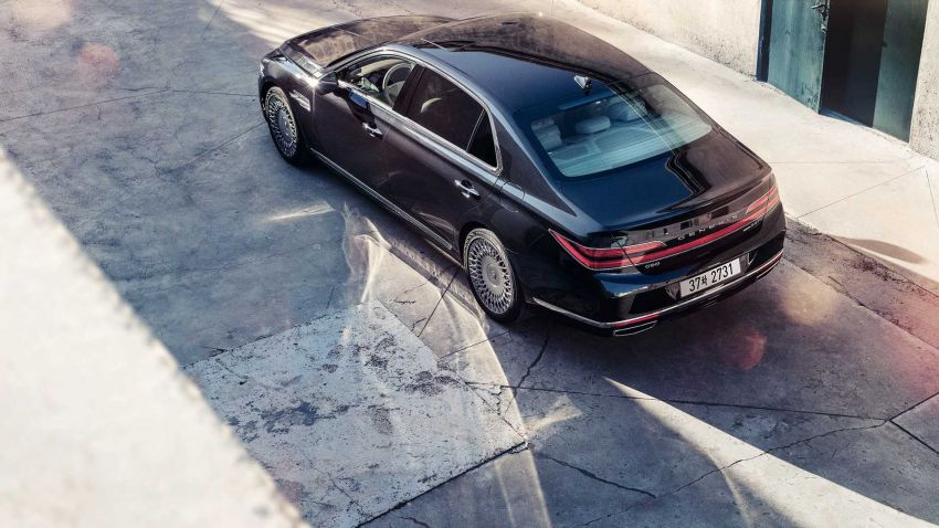 Genesis G90 facelift – major exterior overhaul for limo Image #895199