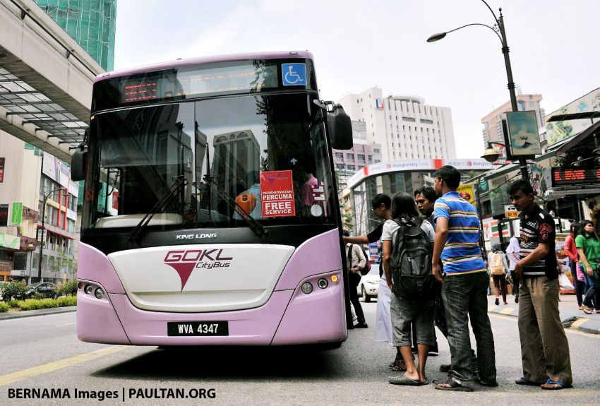 GoKL free bus network expansion to cover PPR areas Image #884345
