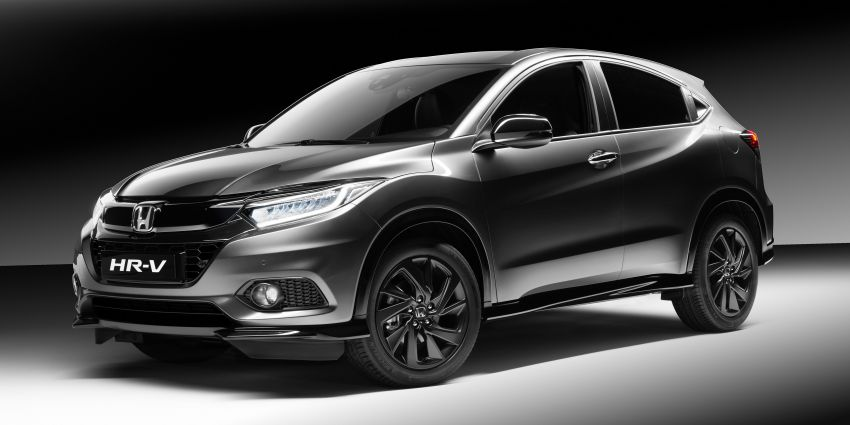 Honda HR-V Sport debuts in Europe with VTEC Turbo Image #896549