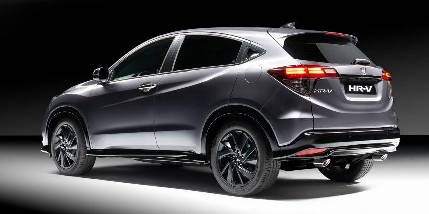 Honda HR-V Sport debuts in Europe with VTEC Turbo Image #896550