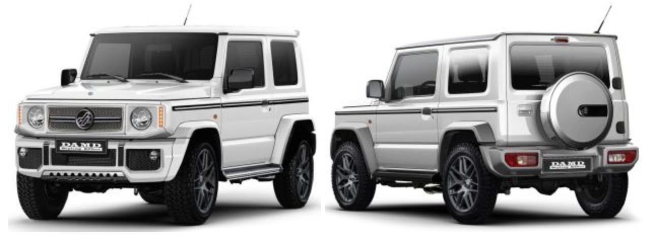 DAMD offers G-Class, Defender kits for Suzuki Jimny Paul Tan - Image