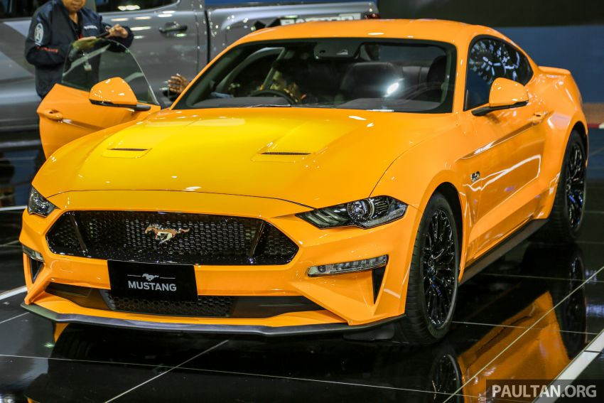 KLIMS18: 2019 Ford Mustang facelift previewed – 5.0L GT and 2.3L EcoBoost to go on sale next year Image #892826