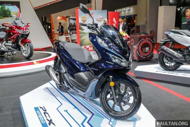 Klims18 Boon Siew Honda Launches Pcx Hybrid And Forza Cbr1000rr