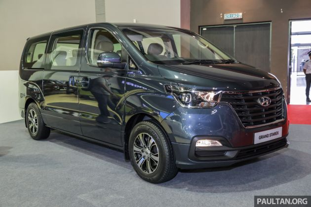 Hyundai Starex facelift price up by RM3k - RM151,888