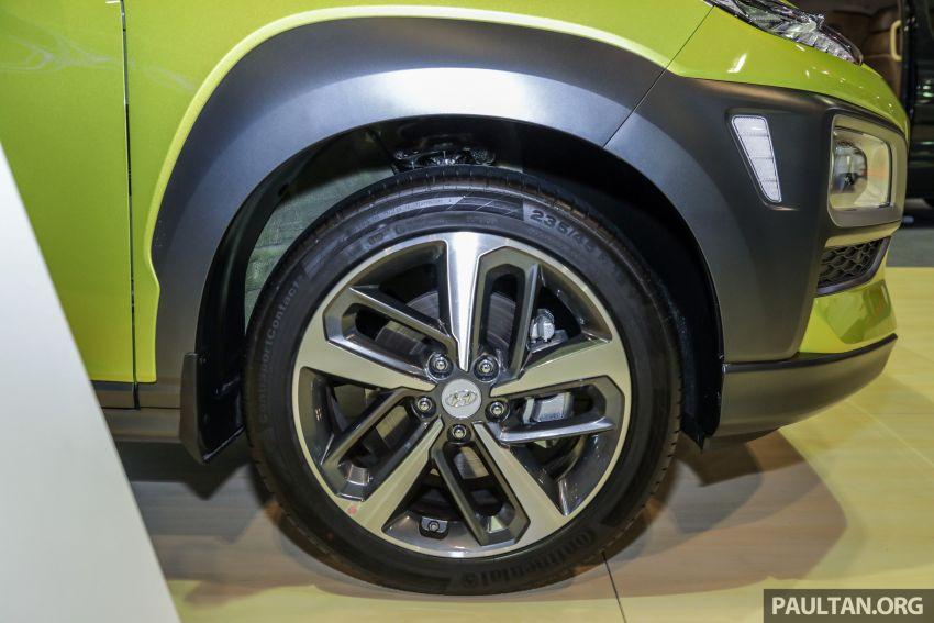 KLIMS18: Hyundai Kona 1.6 Turbo dan Electric – model enjin petrol mungkin dilancar pada Mei 2019 Image #892844