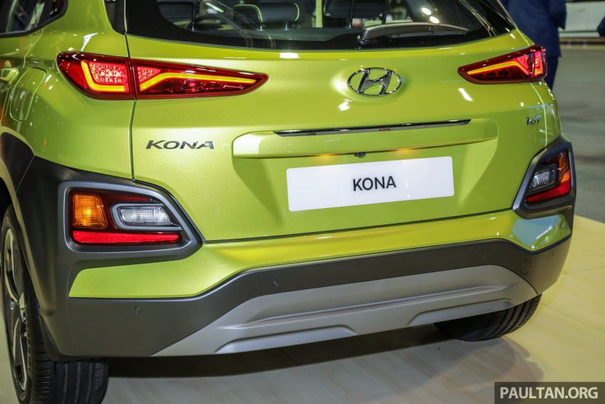 KLIMS18: Hyundai Kona Electric, 1.6 Turbo on show – ICE version set for Q2 2019 Malaysian debut Image #892385