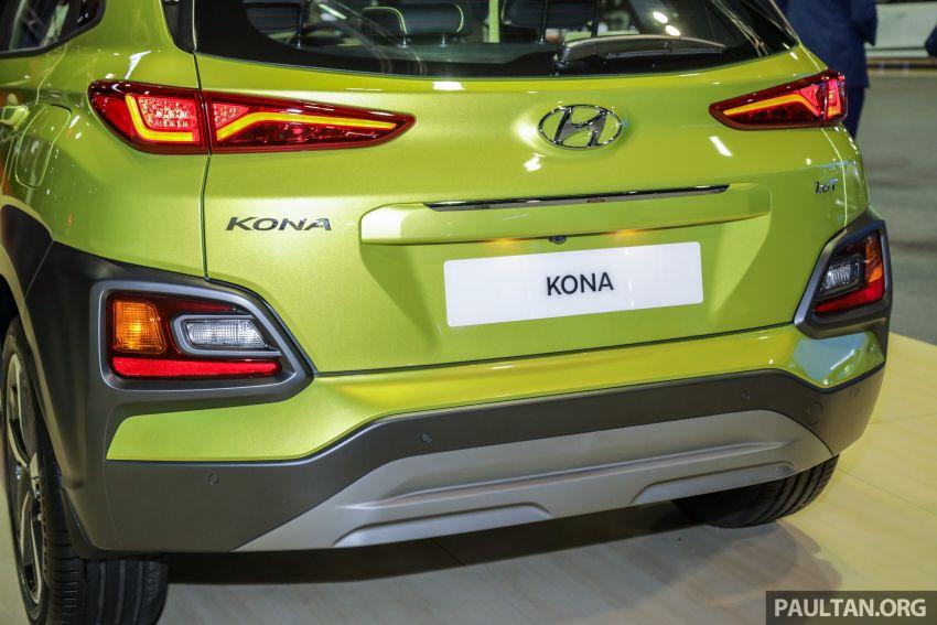 KLIMS18: Hyundai Kona Electric, 1.6 Turbo on show – ICE version set for Q2 2019 Malaysian debut Image #892385