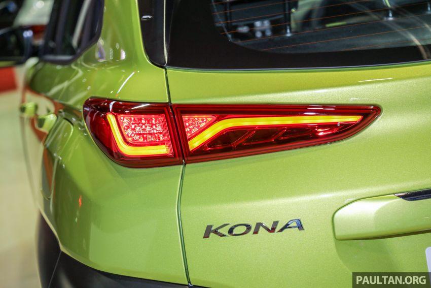 KLIMS18: Hyundai Kona 1.6 Turbo dan Electric – model enjin petrol mungkin dilancar pada Mei 2019 Image #892846