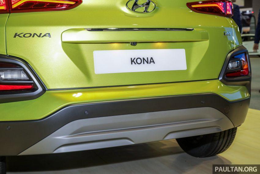 KLIMS18: Hyundai Kona 1.6 Turbo dan Electric – model enjin petrol mungkin dilancar pada Mei 2019 Image #892848