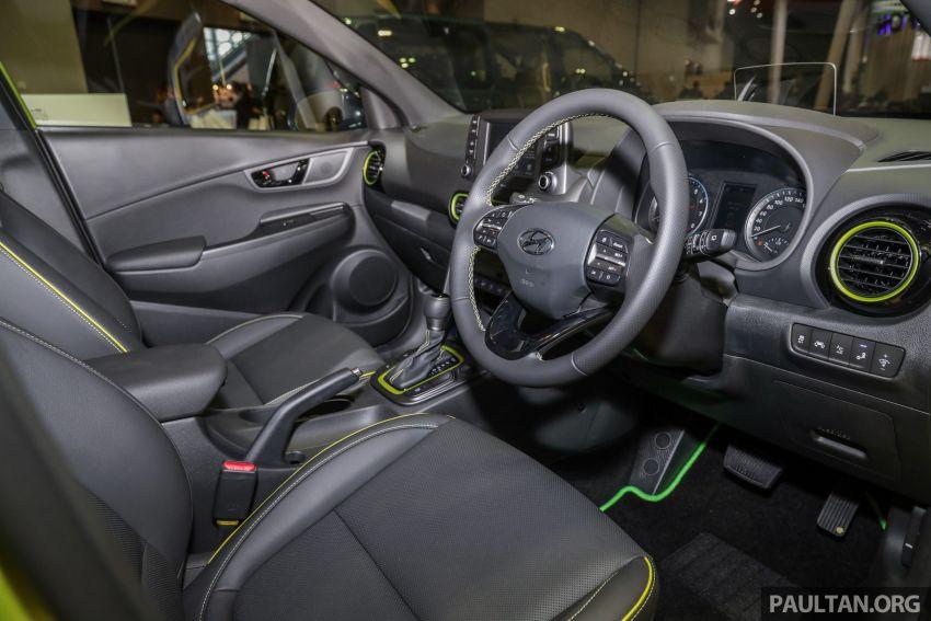 KLIMS18: Hyundai Kona 1.6 Turbo dan Electric – model enjin petrol mungkin dilancar pada Mei 2019 Image #892852