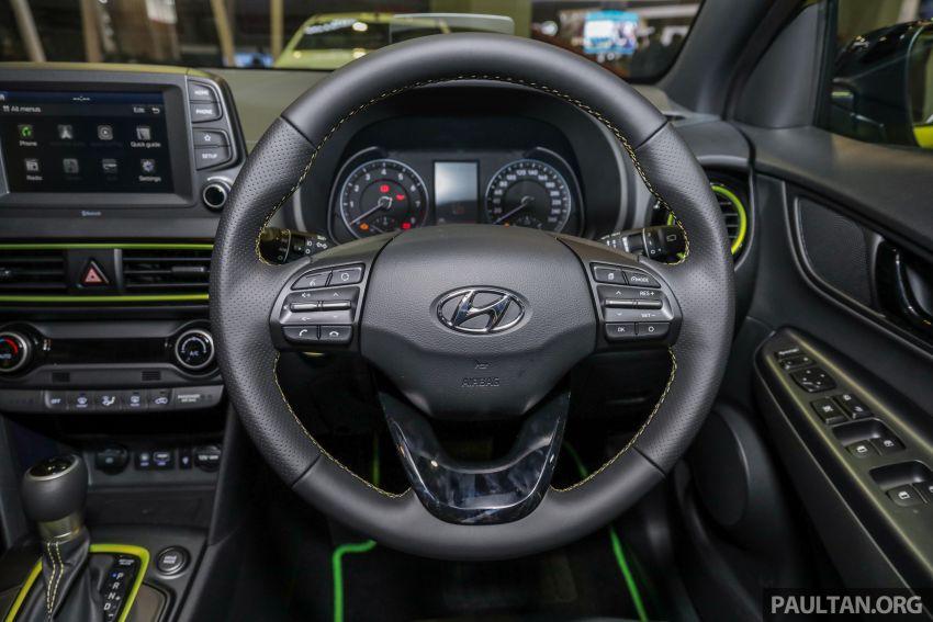 KLIMS18: Hyundai Kona 1.6 Turbo dan Electric – model enjin petrol mungkin dilancar pada Mei 2019 Image #892853