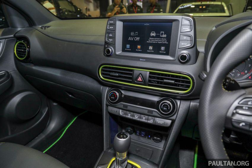 KLIMS18: Hyundai Kona 1.6 Turbo dan Electric – model enjin petrol mungkin dilancar pada Mei 2019 Image #892855
