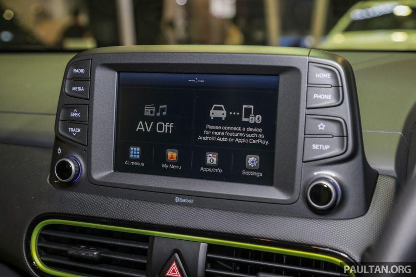 KLIMS18: Hyundai Kona 1.6 Turbo dan Electric – model enjin petrol mungkin dilancar pada Mei 2019 Image #892856