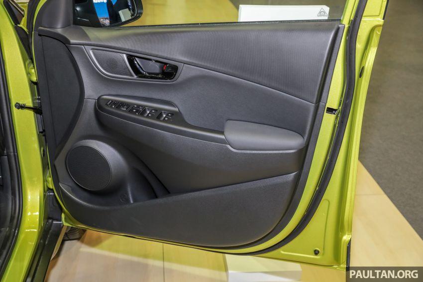 KLIMS18: Hyundai Kona 1.6 Turbo dan Electric – model enjin petrol mungkin dilancar pada Mei 2019 Image #892862
