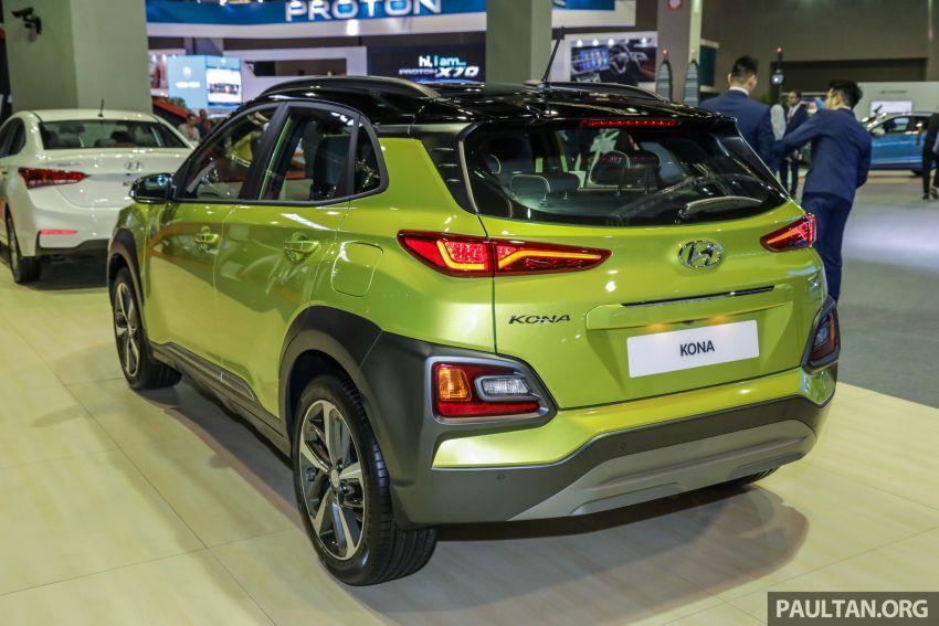 KLIMS18: Hyundai Kona 1.6 Turbo dan Electric – model enjin petrol mungkin dilancar pada Mei 2019 Image #892835