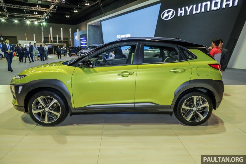 KLIMS18: Hyundai Kona Electric, 1.6 Turbo on show – ICE version set for Q2 2019 Malaysian debut Image #892376